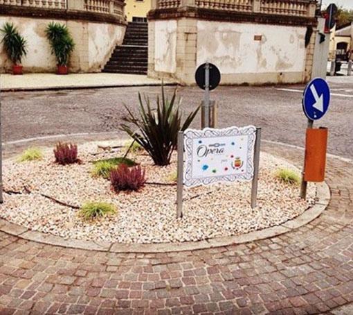Rotonda Flero opera ambientale